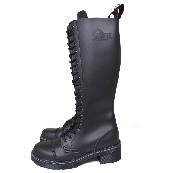 Veggie TANK Boots for Girls 20 Loch schwarz
