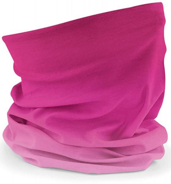 Schlauchschal pink ombré