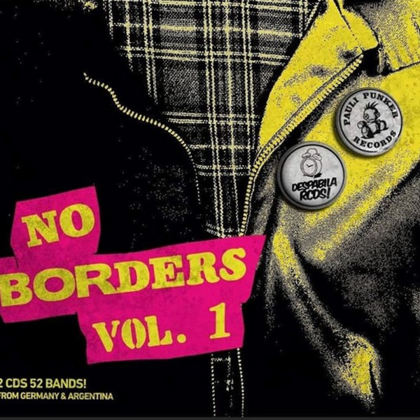 No Borders Vol. 1 Doppel CD Digipak