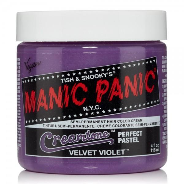 Velvet Violet Manic Panic Creamtone Haarfarbe