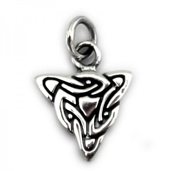 Silber Anhänger Keltischer Knoten