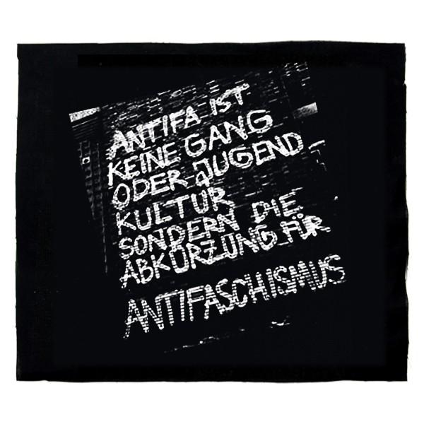 Antifa ist keine Gang – Aufnäher