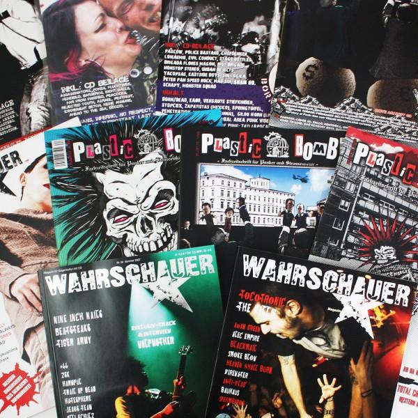 Fanzine Package 10 Fanzines