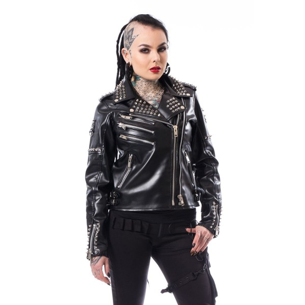 Razer Vegan Biker Jacket Ladies