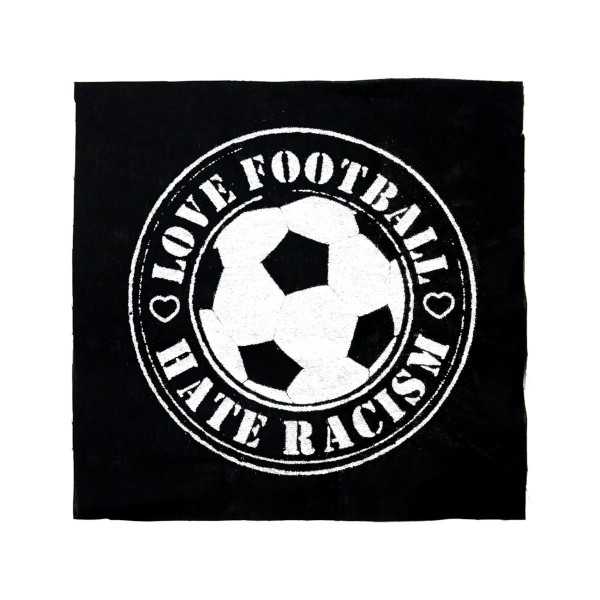 Love Football - Hate Racism Aufnäher