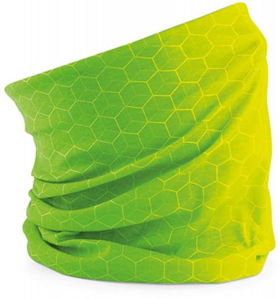 Schlauchschal Geometric grün