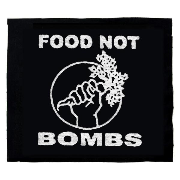 Food not Bombs – Aufnäher