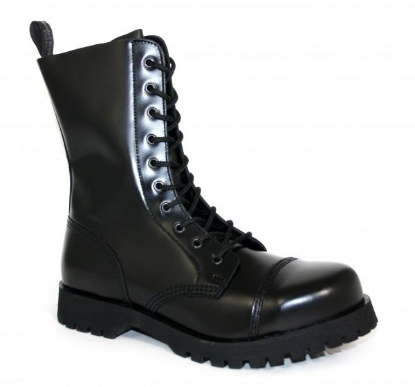 Boots & Braces 10-Loch schwarz