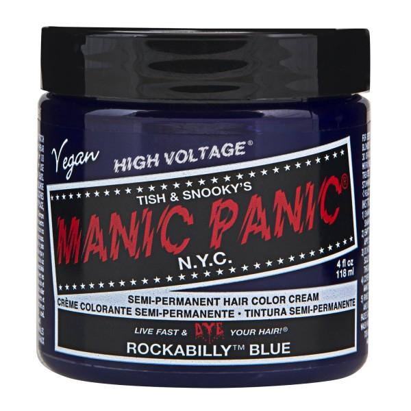 Rockabilly Blue Manic Panic Cream Haarfarbe