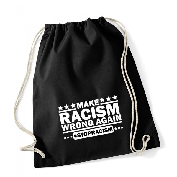 Turnbeutel Make Racism wrong again