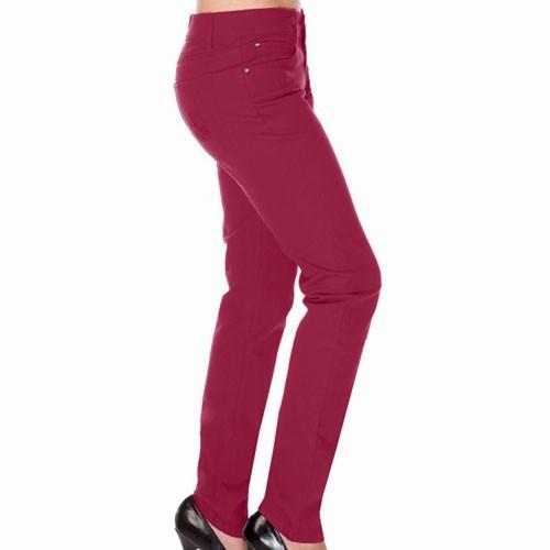 Jawbreaker Ladies Trousers Burgundy