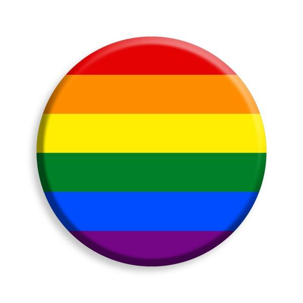 Regenbogen Button