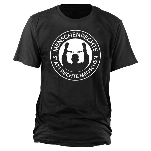 Menschenrechte T-Shirt schwarz