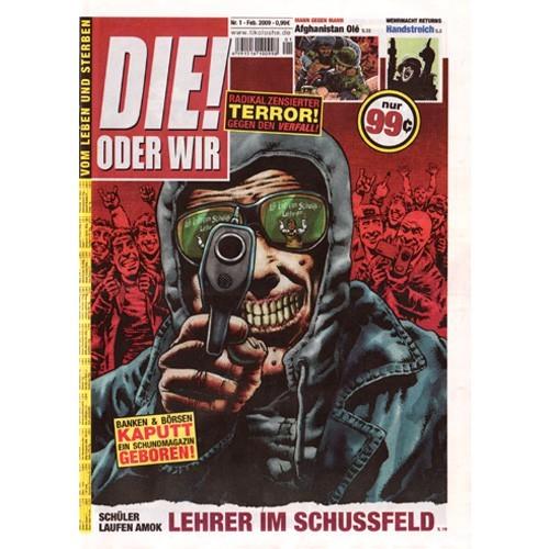 Die! oder Wir # 1- Comic
