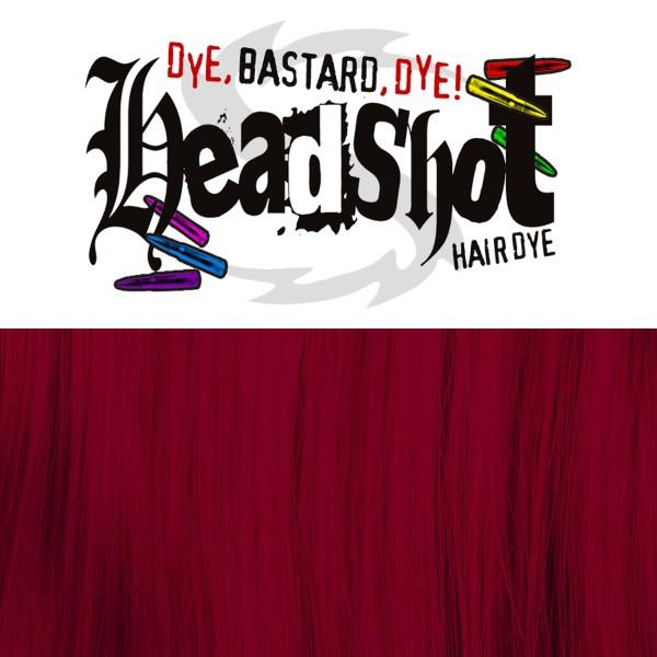 Rote Haarfarbe Headshot Peng! Peng! Semi-permanente Haartönung 150 ml
