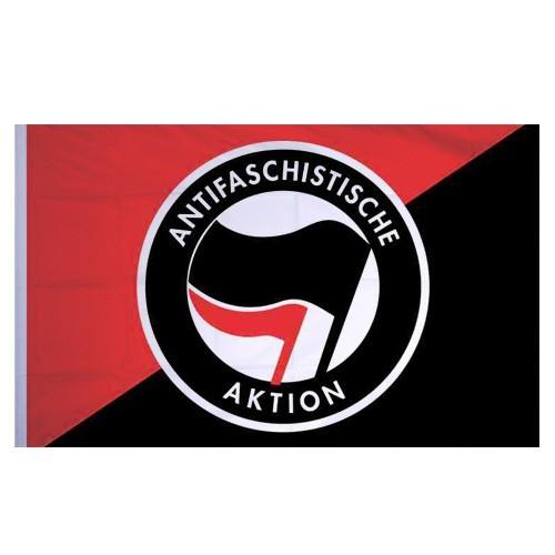 Antifaschistische Aktion - Flagge