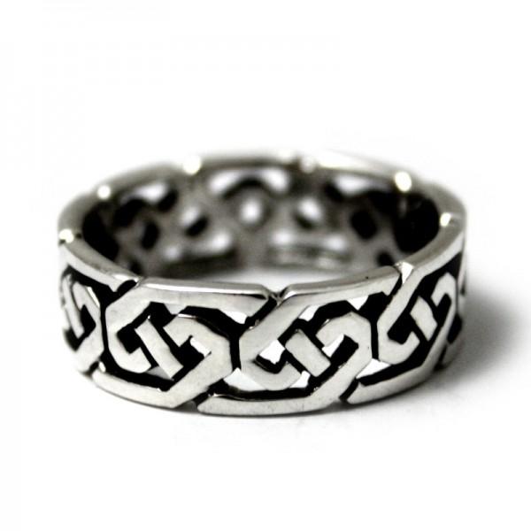 Silberring Keltisches Band