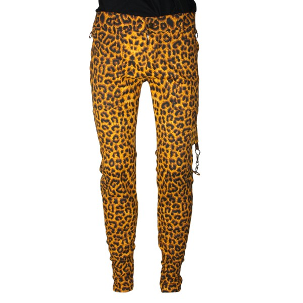 Pure Shark Leopard Punk Trousers
