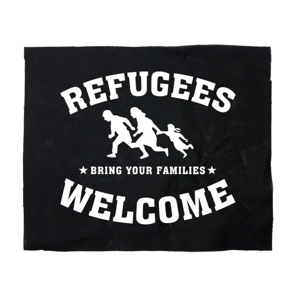Refugees Welcome Backpatch