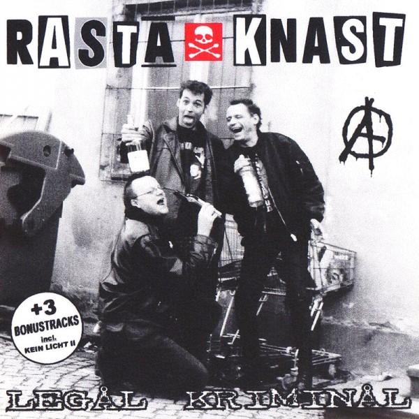 RASTA KNAST – Legal kriminal  CD
