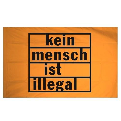 Kein Mensch ist illegal Flagge