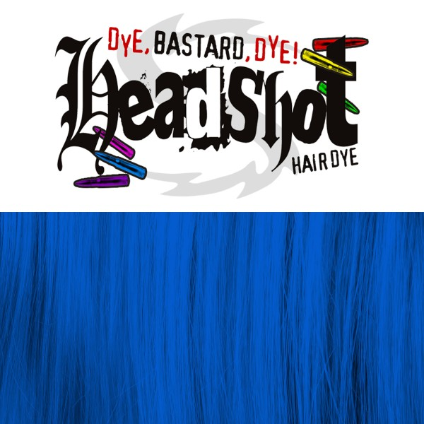 Blaue Haarfarbe Headshot Bluecifer, Semi-permanente Haartönung 150 ml