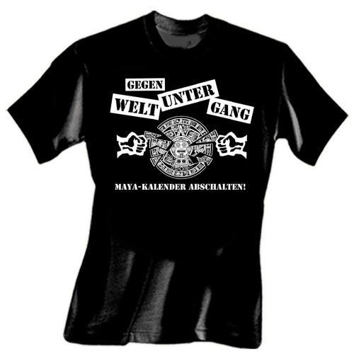 Gegen Weltuntergang T-Shirt