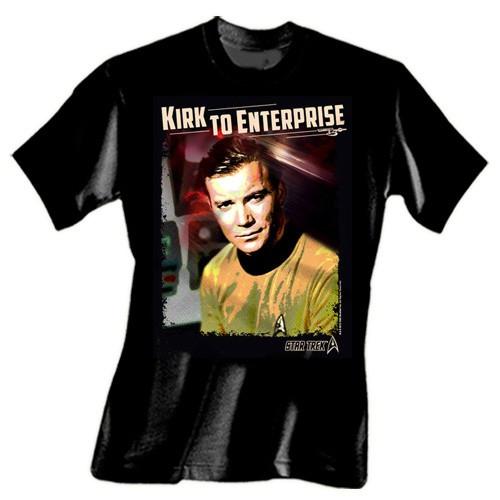 8f53fde9464f Star Trek - Kirk to Enterprise T-Shirt   Bargain Store   Impact Mailorder