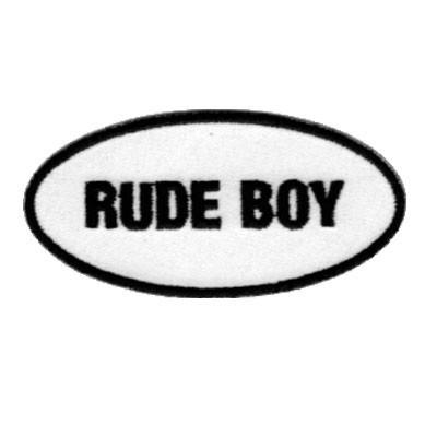 Rude Boy Aufnäher