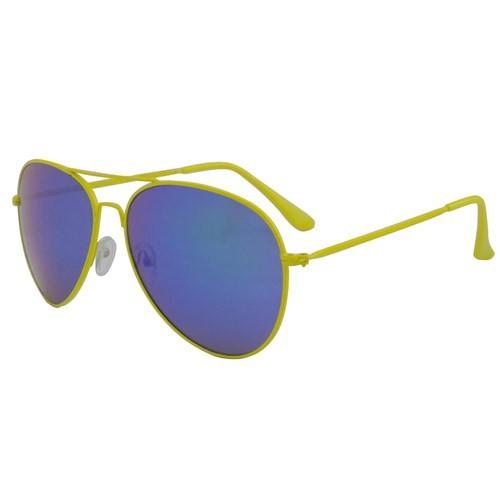 Qwin Pilotenbrille Revo yellow