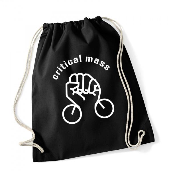 Turnbeutel Critical Mass