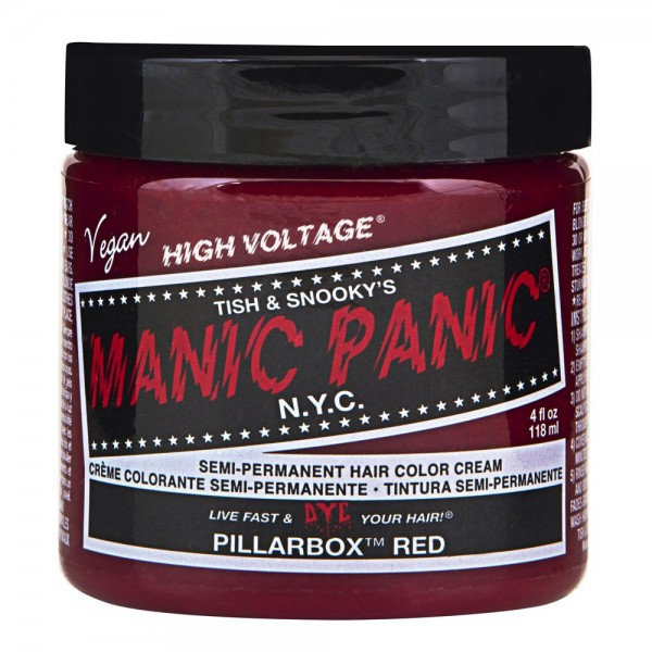 Pillarbox Red Manic Panic Cream Haarfarbe