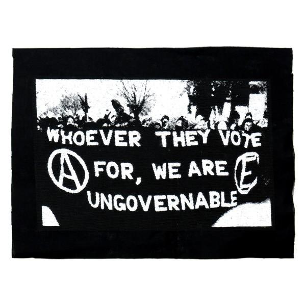 ungovernable – Aufnäher