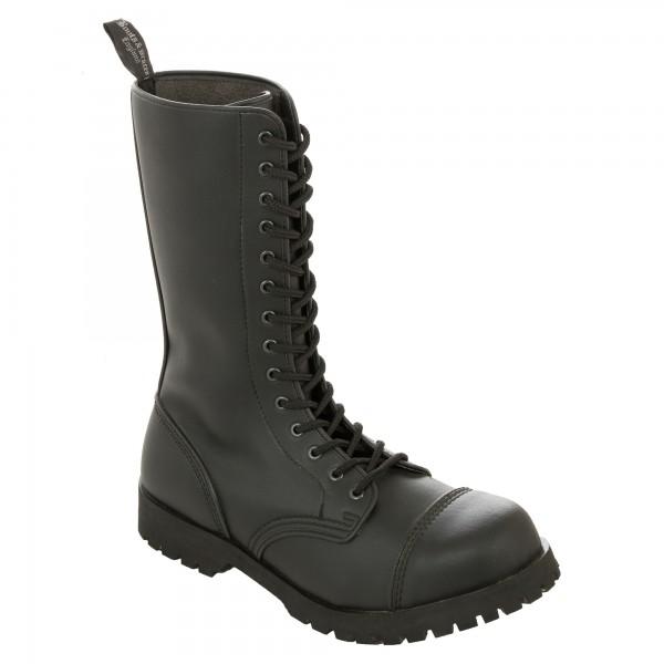Vegetarian Boots & Braces 14 Loch schwarz