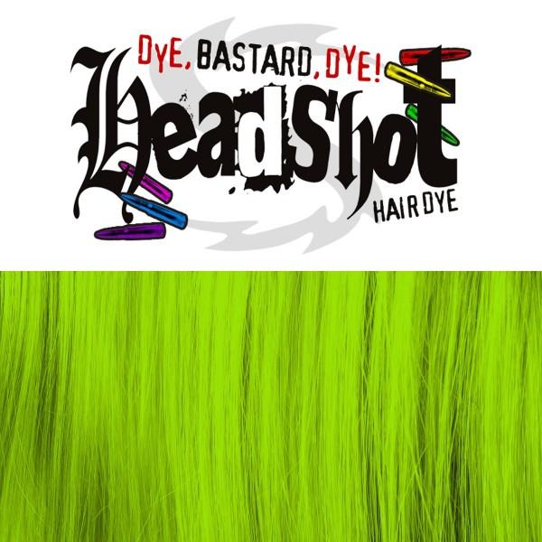 Grüne Haarfarbe Headshot Danger! Danger!, Semi-permanente Haartönung 150 ml