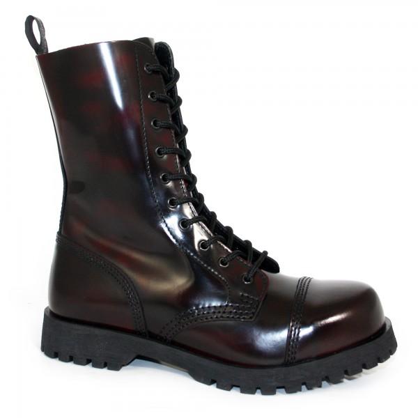 Boots & Braces 10-Loch burgund