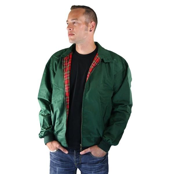 Harrington Jacke grün Sommer
