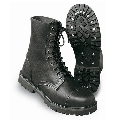 Undercover Ranger Boots 10 Loch schwarz