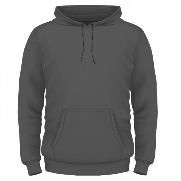 Kapuzenpulli dark grey