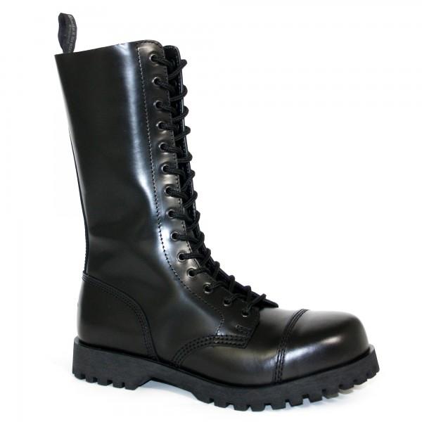 Boots & Braces 14-Loch schwarz