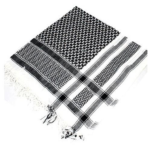 PLO Tuch schwarz weiß