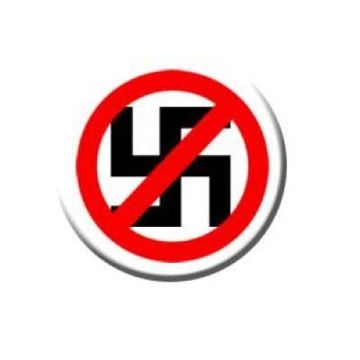 Anti Nazi Button