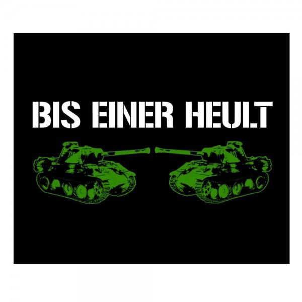 Bis einer heult (green) - Backpatch