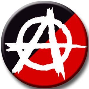 Anarchy Black/Red Button