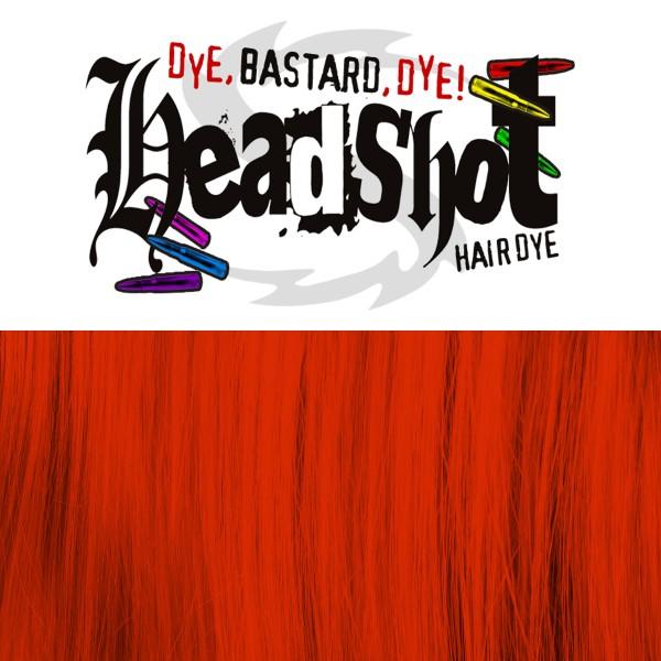 Rote Haarfarbe Headshot Red Alert, Semi-permanente Haartönung 150 ml