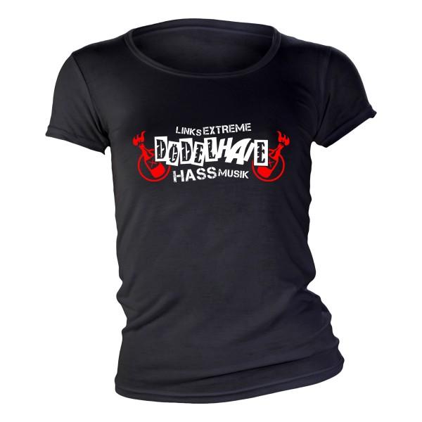 Dödelhaie - Linksextreme Hassmusik Girlie Shirt