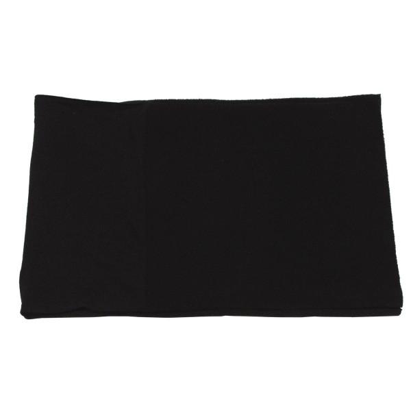 Rundschal, Fleece, schwarz