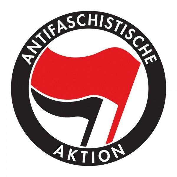 Antifaschistische Aktion Aufkleber 10 Stück