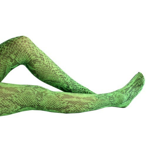 Snake flo Tights green