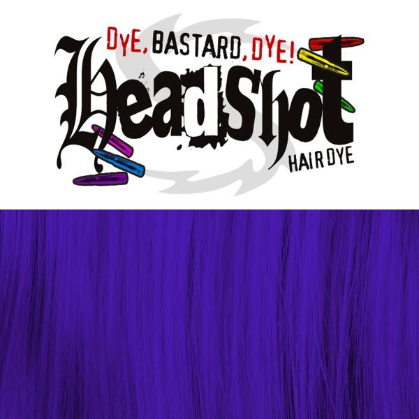 Violette Haarfarbe Headshot Violent Violet, Semi-permanente Haartönung 150 ml
